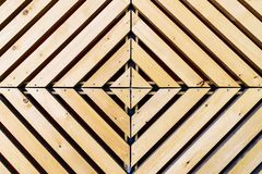 Symmetrical diamond background pattern with wood Stock Photos