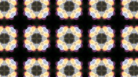 Symmetrical Floral Pattern Kaleidoscope Background Stock Photo