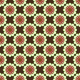 Symmetrical flower pattern Royalty Free Stock Photography