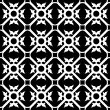 Symmetrical flower pattern Royalty Free Stock Photos