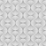 Symmetrical geometric shapes black and white Stock Photo