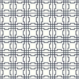 Symmetrical geometric shapes black and white Royalty Free Stock Photography