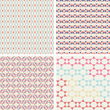 Symmetrical geometric shapes triangle squares Stock Photography