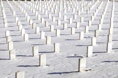 Symmetrical graves Stock Images