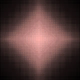 Symmetrical halftone ellipse grid pattern background - vector graphic from ellipses in varying sizes. Abstract symmetrical halftone ellipse grid pattern Stock Photography
