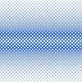 Symmetrical halftone square pattern background - vector graphic from squares in varying sizes Stock Photo