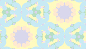 Symmetrical Kaleidoscope Pattern Royalty Free Stock Photography