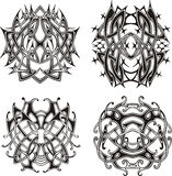 Symmetrical knot patterns Stock Photo