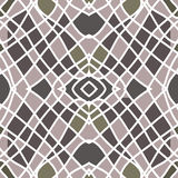 Symmetrical mosaic. For decor and decoration Stock Photo