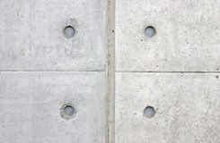 Symmetrical pattern on concrete tiles close up Royalty Free Stock Photo