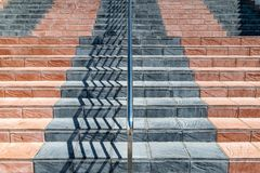 A symmetrical staircase Stock Photography