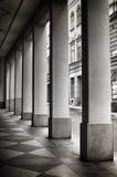 Symmetrical pillars Stock Photography
