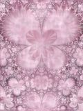 Symmetrical Purple Pink Flower Stock Photo