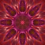 Symmetrical and repetitive colors. Background stock illustration