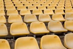 Symmetrical seats Stock Photography