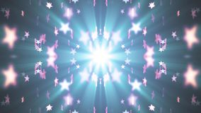 Symmetrical shiny stars random moving fading animation light background animation new quality vintage universal motion