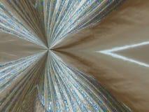 Symmetrical silk drape. Silk drape with metallic luster symmetrical vector illustration