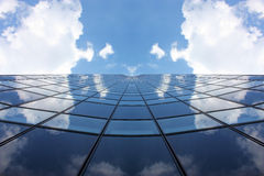 Symmetrical skyscraper Stock Photography