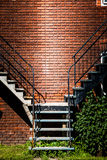 Symmetrical Staircases Stock Photography