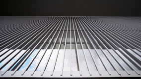 Symmetrical structure Stock Image