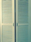 Wardrobe doors royalty free stock images