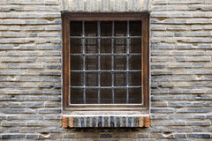 Symmetrical Window Royalty Free Stock Photos