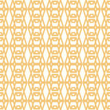 Symmetrical yellow geometric shapes vector textile Royalty Free Stock Photos