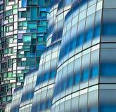 Symmetrie балкона Middelkerke, Бельгии Стоковое Изображение
