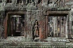 Symmetrie in Banteay Kdei Lizenzfreie Stockbilder