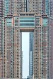 Symmetrie van een gebouw in Hong Kong Royalty-vrije Stock Fotografie