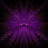 Symmetrisch abstract ontwerp royalty-vrije illustratie