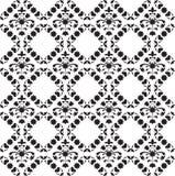 Symmetrisch bloemen naadloos patroon Stock Foto's