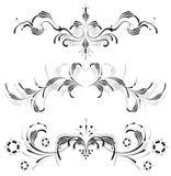 Symmetrisch ornament Stock Illustratie