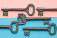 Symmetrisch vereinbarte Schlüssel stockbilder