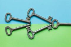 Symmetrisch vereinbarte Schlüssel lizenzfreies stockfoto