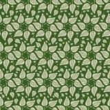 Symmetrische Abstracte Bladsterren royalty-vrije illustratie