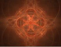 Symmetrische Achtergrond stock illustratie