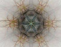 Symmetrische Achtergrond royalty-vrije illustratie