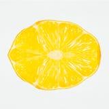 Symmetrische citroen Royalty-vrije Stock Afbeelding