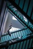 Symmetrische vloerbruggen royalty-vrije stock afbeelding