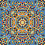 Symmetrisches abstraktes nahtloses Muster Stockbilder
