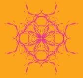symmetrisk blom- modell Royaltyfria Bilder