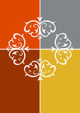 symmetrisk prydnad Royaltyfri Illustrationer