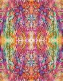 Symmetrisk psykokatharsis Royaltyfri Fotografi