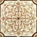 symmetrisk tegelplatta Royaltyfria Bilder