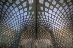 symmetriska byggnader Stock Illustrationer