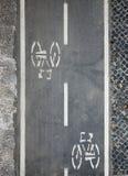 Symmetriskt cykla Fotografering för Bildbyråer