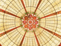 Symmetry. Circle symmetry pattern. Graphic background Royalty Free Stock Images