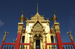 Symmetry in Buddhist architecture Royalty Free Stock Image