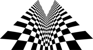 Symmetry checkered Stock Photos